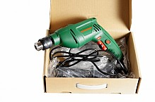 Electric drill in a box.