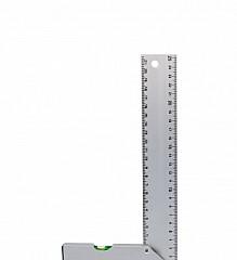 Square measuring metal.