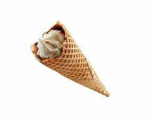 Wafer cone ice cream.