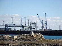 Port Aktau Kazakhstan.